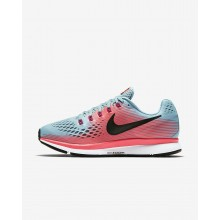 Nike Air Zoom Running Shoes For Women Racer Pink/Mica Blue/Sport Fuchsia/White 880560-406