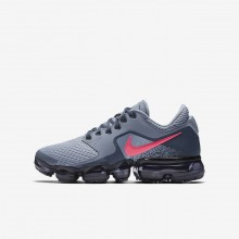 Girls Dark Sky Blue/Thunder Blue/Midnight Navy/Racer Pink Nike Air VaporMax Running Shoes 917962-401