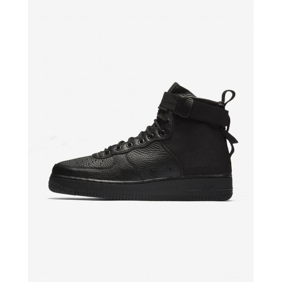 Mens Black Nike SF Air Force 1 Lifestyle Shoes 917753-005