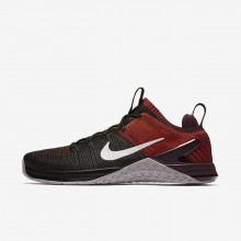 Mens Black/Chile Red/Vast Grey Nike Metcon DSX Training Shoes 924423-002