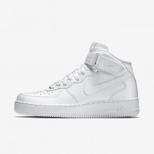 Mens White Nike Air Force 1 Lifestyle Shoes 315123-111
