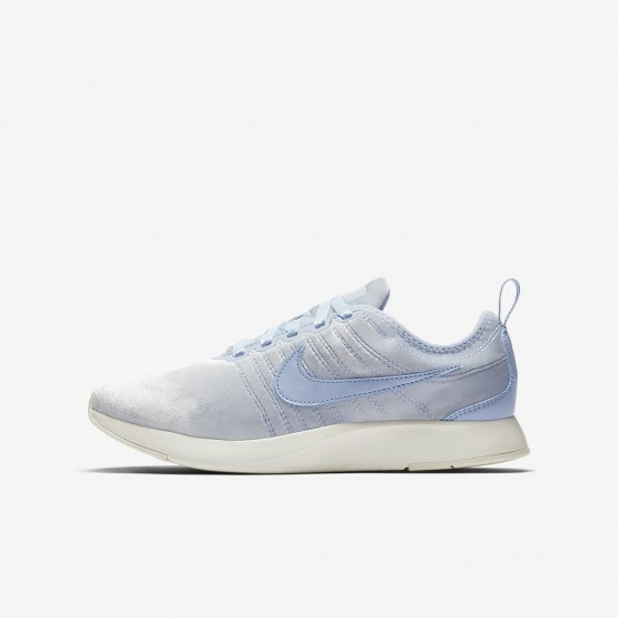 Nike Dualtone Racer Lifestyle Shoes For Girls Royal Tint/Sail 943576-400