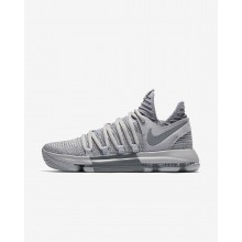 Womens Wolf Grey/Cool Grey Nike Zoom KDX Basketball Shoes 897815-007