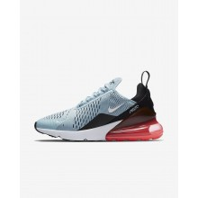 Womens Ocean Bliss/Black/Hot Punch/White Nike Air Max 270 Lifestyle Shoes AH6789-400