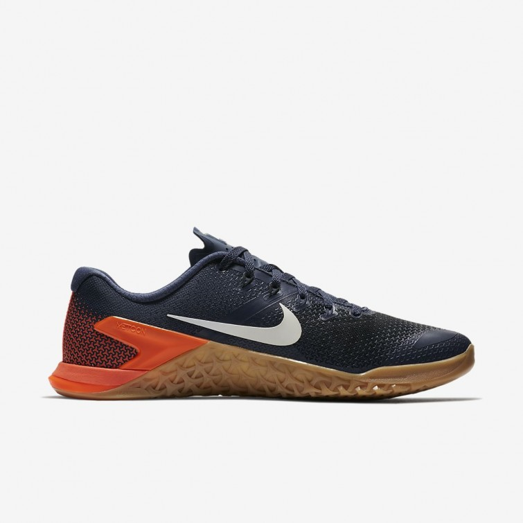 3f095a36633 ... Mens Thunder Blue Black Hyper Crimson White Nike Metcon 4 Training Shoes  AH7453 ...