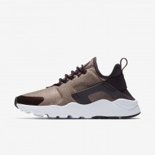 Chaussure Casual Nike Air Huarache Femme Metal/Rose 859516-602