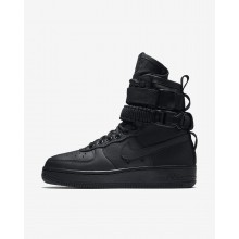 Womens Black Nike SF Air Force 1 Lifestyle Shoes 857872-002