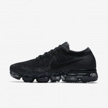 Womens Black/Dark Grey/Anthracite Nike Air VaporMax Running Shoes 849557-006