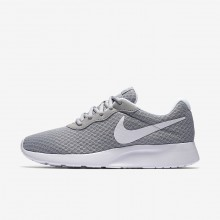 Nike Tanjun Lifestyle Shoes For Women Wolf Grey/White 812655-010