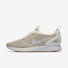 Womens Sail/Sand/Gum Yellow/White Nike Air Zoom Lifestyle Shoes AA0521-100