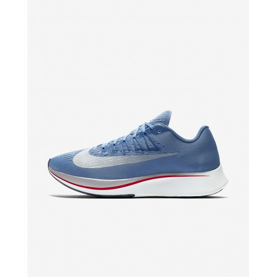 Mens Aegean Storm/Blue Nebula/Thunder Blue/Summit White Nike Zoom Fly Running Shoes 880848-402
