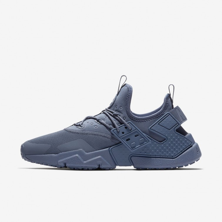 sports shoes dcb0d 83ea5 Chaussure Casual Nike Air Huarache Homme Bleu Blanche AH7334-400