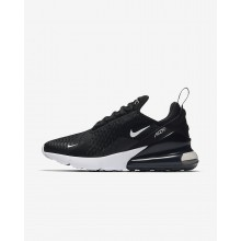 Womens Black/White/Anthracite Nike Air Max 270 Lifestyle Shoes AH6789-001