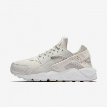 Womens Phantom/Summit White/Light Bone Nike Air Huarache Lifestyle Shoes 634835-028