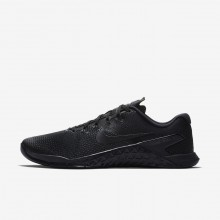 Mens Black/Hyper Crimson Nike Metcon 4 Training Shoes AH7453-001