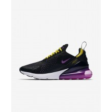 Mens Black/Hyper Grape/Tour Yellow/Hyper Magenta Nike Air Max 270 Lifestyle Shoes AH8050-006