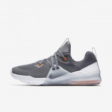 Mens Dark Grey/Wolf Grey/Hyper Crimson Nike Zoom Train Command Training Shoes 922478-001