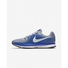 Nike Air Zoom Running Shoes For Men Wolf Grey/Racer Blue/Deep Royal Blue/White 880555-007