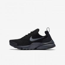 Boys Black/Anthracite Nike Presto Fly Lifestyle Shoes 913966-005