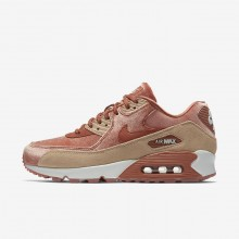 Sapatilhas Casual Nike Air Max 90 Mulher Bege/Branco 898512-201