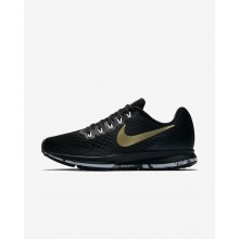 Nike Air Zoom Running Shoes For Women Black/Anthracite/White/Metallic Gold Star 880560-017