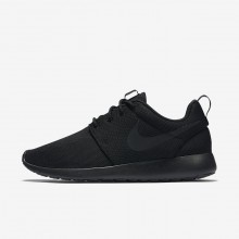 Womens Black/Dark Grey Nike Roshe One Lifestyle Shoes 844994-001