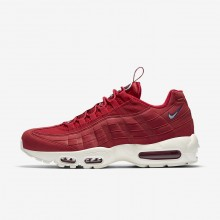 Mens Gym Red/Gym Blue/Sail Nike Air Max 95 Lifestyle Shoes AJ1844-600