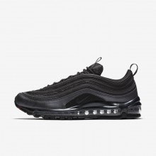 Mens Black/Metallic Hematite/Dark Grey/Anthracite Nike Air Max 97 Lifestyle Shoes 921826-005
