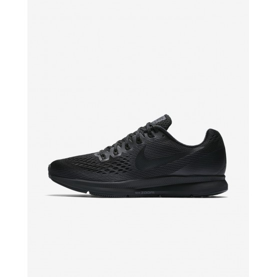 Nike Air Zoom Running Shoes For Men Black/Anthracite/Dark Grey 880555-003