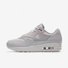 Womens Vast Grey/Atmosphere Grey/Summit White Nike Air Max 1 Lifestyle Shoes 454746-017