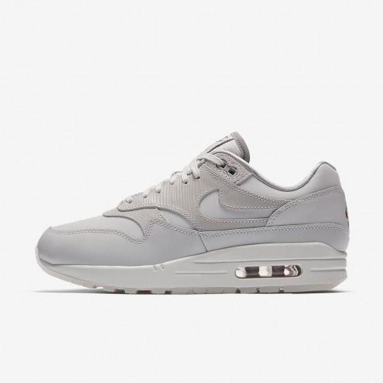 Chaussure Casual Nike Air Max 1 Femme Grise/Grise/Blanche 454746-017