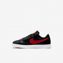 Girls Black/Bleached Coral/Speed Red Nike Blazer Lifestyle Shoes AO1034-001