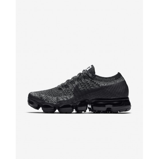 Nike Air VaporMax Running Shoes For Women Black/White/Racer Blue 849557-041