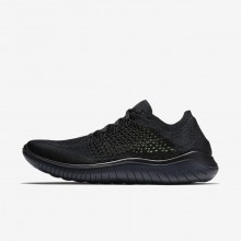 Mens Black/Anthracite Nike Free RN Running Shoes 942838-002