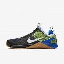 Mens Black/Racer Blue/Volt/White Nike Metcon DSX Training Shoes 924423-006