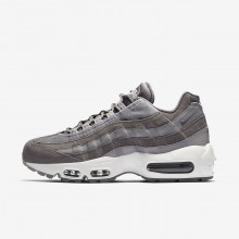 Womens Gunsmoke/Atmosphere Grey/Summit White Nike Air Max 95 Lifestyle Shoes AA1103-003