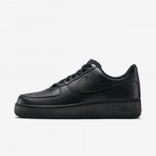 Womens Black Nike Air Force 1 Lifestyle Shoes 315115-038