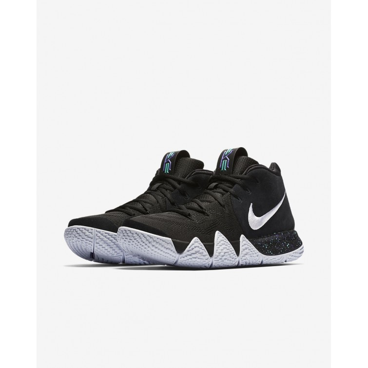 cheaper ffeb7 1a63a Mens Black/Anthracite/Light Racer Blue/White Nike Kyrie 4 ...