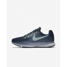 Nike Air Zoom Running Shoes For Women Armory Navy/Glacier Grey/Black/Mint Foam 880560-405