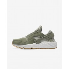 Womens Dark Stucco/Light Bone/Summit White/Pale Grey Nike Air Huarache Lifestyle Shoes 634835-027