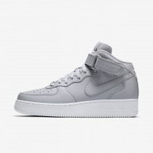 Mens Wolf Grey/White Nike Air Force 1 Lifestyle Shoes 315123-046