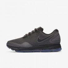 Womens Midnight Fog/Obsidian/Black Nike Zoom All Out Running Shoes AJ0036-002