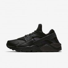 Womens Black Nike Air Huarache Lifestyle Shoes 634835-012