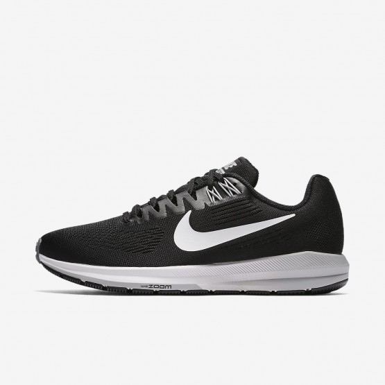 Womens Black/Wolf Grey/Cool Grey/White Nike Air Zoom Running Shoes 904701-001