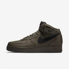 Mens Ridgerock/Black Nike Air Force 1 Lifestyle Shoes 315123-205