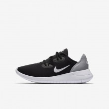 Boys Black/Wolf Grey/White Nike Hakata Lifestyle Shoes AO1242-002