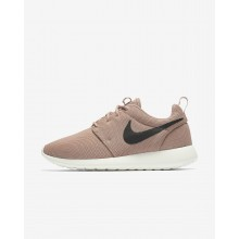 Womens Particle Pink/Sail/Black Nike Roshe One Lifestyle Shoes 844994-601