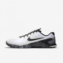 Mens White/Sail/Black Nike Metcon 4 Training Shoes AH7453-101
