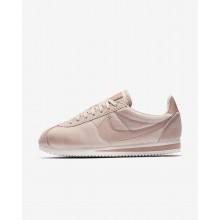 Womens Particle Beige/Metallic Gold/Particle Pink Nike Cortez Lifestyle Shoes 902856-202