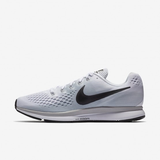 Mens White/Pure Platinum/Wolf Grey/Anthracite Nike Air Zoom Running Shoes 880555-103